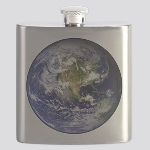 High Resolution EARTH From Space Flask
