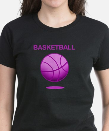 Basketball (E) Women's Dark T-Shirt