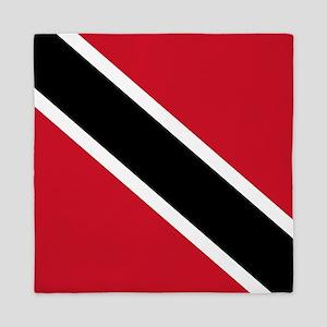 Trinidad and Tobago Flag Queen Duvet
