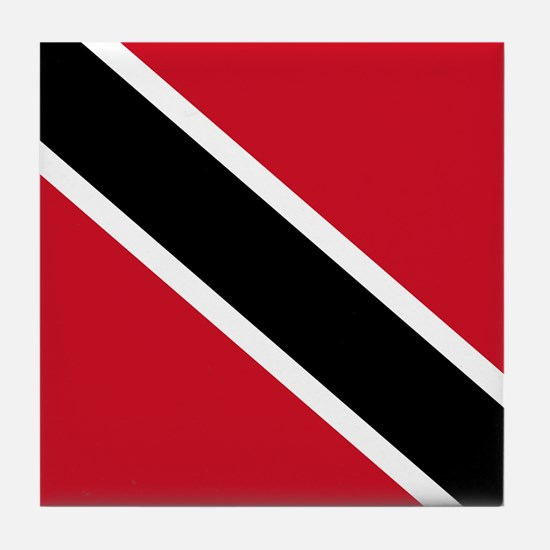 Trinidad and Tobago Flag Tile Coaster
