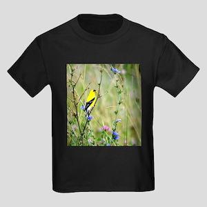 American Goldfinch Kids Dark T-Shirt
