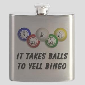 Balls to Bingo Flask