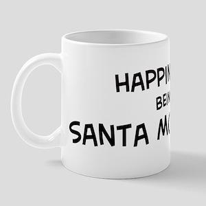 Santa Monica - Happiness Mug