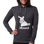 iBoard Womens Hooded Shirt