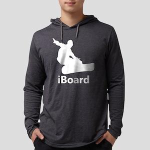 iBoard Mens Hooded Shirt