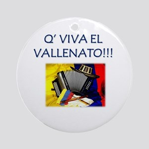 VALLENATO Ornament (Round)