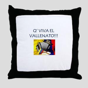 VALLENATO Throw Pillow