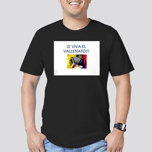 VALLENATO Men's Fitted T-Shirt (dark)