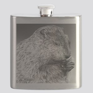 Punxsutawney Phil pillow Flask
