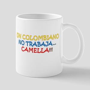 CAMELLA, COLOMBIANO, TRABAJO, WORK Mug