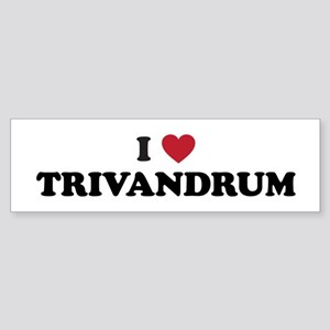 I Love Trivandrum Sticker (Bumper)