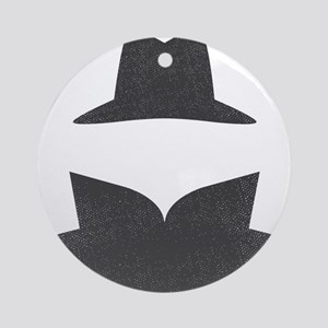 Secret Agent Spry Spy Guy Ornament (Round)