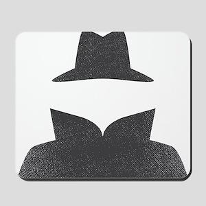 Secret Agent Spry Spy Guy Mousepad