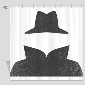 Secret Agent Spry Spy Guy Shower Curtain
