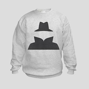 Secret Agent Spry Spy Guy Kids Sweatshirt