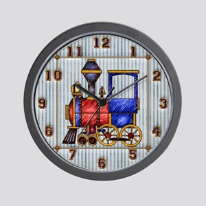 Harvest Moon's Train Engine Wall Clock