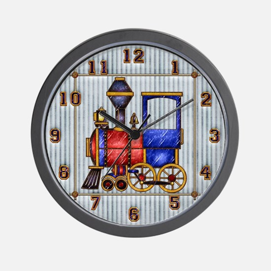 Harvest Moon's Train Engine Wall Clock