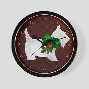 Harvest Moon's Scottie Wall Clock