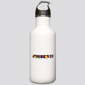 Nautical Longboat Stainless Water Bottle 1.0L