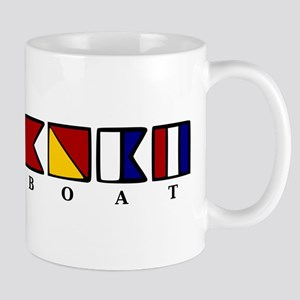 Nautical Longboat Mug