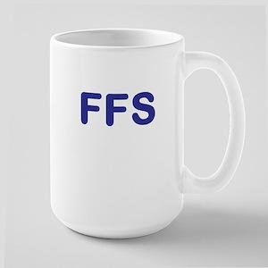 For Fs Sake Large Mug