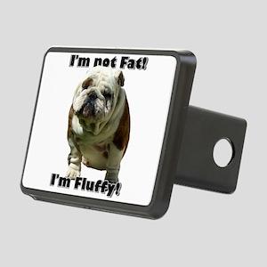 Im Not Fat Bulldog Rectangular Hitch Cover