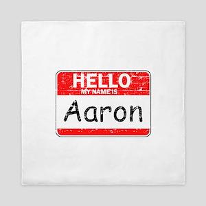 Hello My name is Aaron Queen Duvet