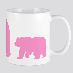 Bear Migration Icon (Pink) Mug