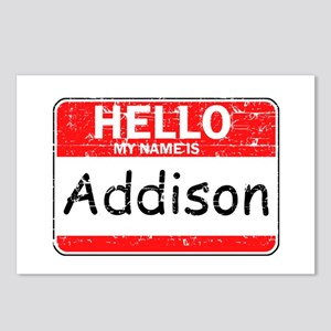 Hello My name is Addison Postcards (Package of 8)