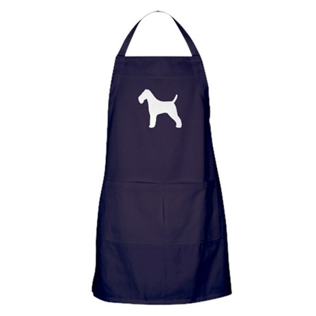 Wire Fox Terrier Apron (dark)