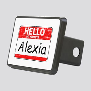 Hello My name is Alexia Rectangular Hitch Cover