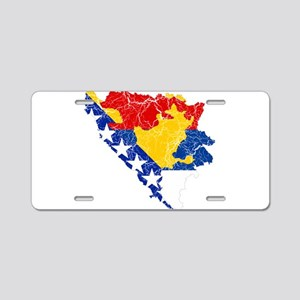 Bosnia And Herzegovina Subdivisions Flag And Map A