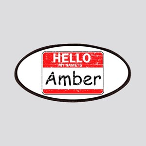 Hello My name is Amber Patches