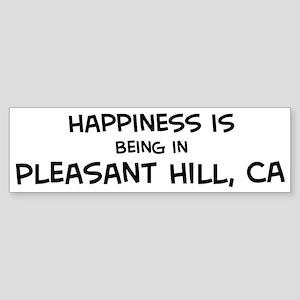 Pleasant Hill - Happiness Bumper Sticker
