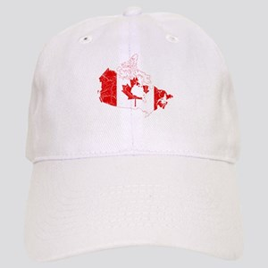 Canada Flag And Map Cap