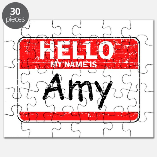 Hello My name is Amy Puzzle