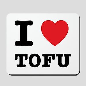 I Heart Tofu Mousepad