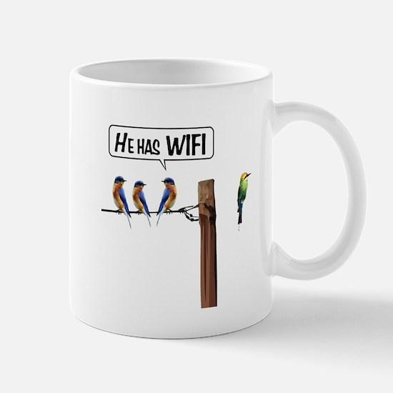 He has WiFi Mug