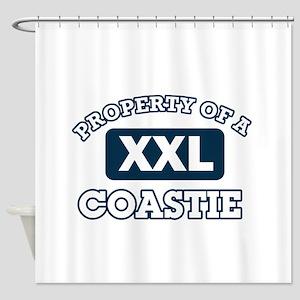 Property of Coastie Shower Curtain