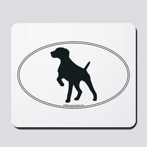 GS Pointer Silhouette Mousepad