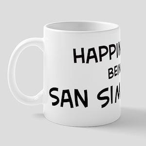 San Simeon - Happiness Mug