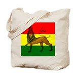 Rasta Lion of Judah Tote Bag