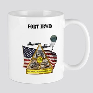 Fort Irwin with Text Mug