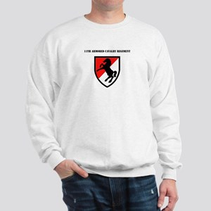 SSI - 11th Armored Cavalry Regiment with Text Swea