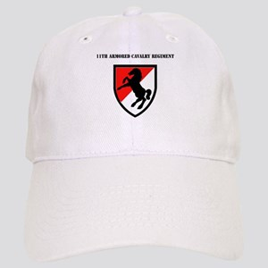 SSI - 11th Armored Cavalry Regiment with Text Cap