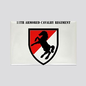 SSI - 11th Armored Cavalry Regiment with Text Rect