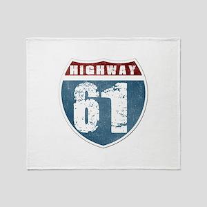 Highway 61 Throw Blanket