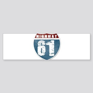 Highway 61 Sticker (Bumper)