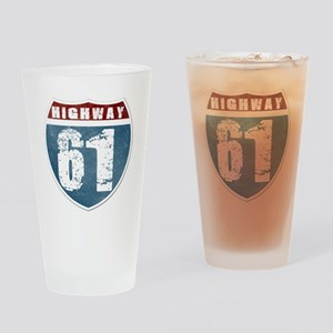 Highway 61 Drinking Glass