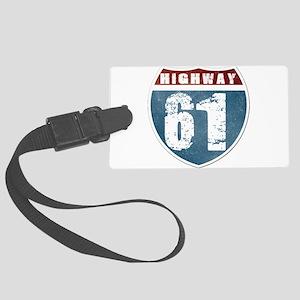 Highway 61 Large Luggage Tag
